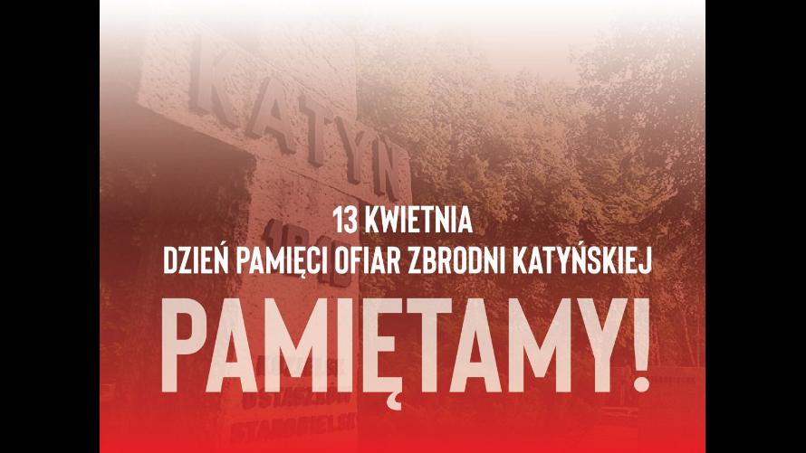 Pamiętamy – 81. rocznica zbrodni katyńskiej